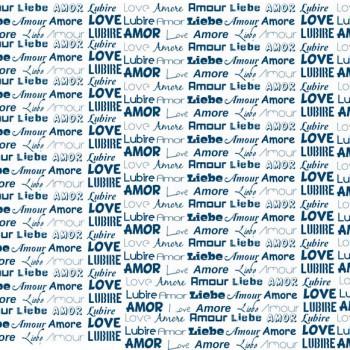 TELA AMORE | Tela inspirada en la caligrafía y la palabra amor en diferente idiomas.  Disponible en: Popelín vestidos, popelín strech, popelín ligero, sarga gabardina, sarga lycra, sarga, lino, lino ( 56% 44 / lino 44% algodón ), crepe de seda china, lona, camiseta, muselina, lona  y gasa.