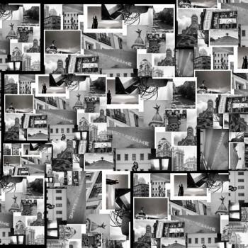 TELA MADRID | Tela diseñada a partir de fotografías originales de Pespunteando.  Disponible en: Popelín vestidos, popelín strech, popelín ligero, sarga gabardina, sarga lycra, sarga, lino, lino ( 56% 44 / lino 44% algodón ), crepe de seda china, lona, camiseta, muselina, lona  y gasa.