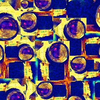TELA NIKON | Tela diseñada a partir de Fotografías originales de Pespunteando.  Disponible en: Popelín vestidos, popelín strech, popelín ligero, sarga gabardina, sarga lycra, sarga, lino, lino ( 56% 44 / lino 44% algodón ), crepe de seda china, lona, camiseta, muselina, lona  y gasa.