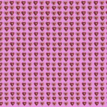 TELA GALLETAS DE CORAZÓN | Tela diseñada con ilustraciones originales de Pespunteando.  Disponible en: Popelín vestidos, popelín strech, popelín ligero, sarga gabardina, sarga lycra, sarga, lino, lino ( 56% 44 / lino 44% algodón ), crepe de seda china, lona, camiseta, muselina, lona  y gasa.