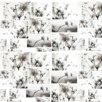 TELA FLOR DE ALMENDRO | Tela diseñada a partir de fotografías originales de Pespunteando.  Disponible en: Popelín vestidos, popelín strech, popelín ligero, sarga gabardina, sarga lycra, sarga, lino, lino ( 56% 44 / lino 44% algodón ), crepe de seda china, lona, camiseta, muselina, lona  y gasa