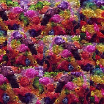 TELA MOSAICO | Tela diseñada a partir de fotografías originales de Pespunteando.  Disponible en: Popelín vestidos, popelín strech, popelín ligero, sarga gabardina, sarga lycra, sarga, lino, lino ( 56% 44 / lino 44% algodón ), crepe de seda china, lona, camiseta, muselina, lona  y gasa.